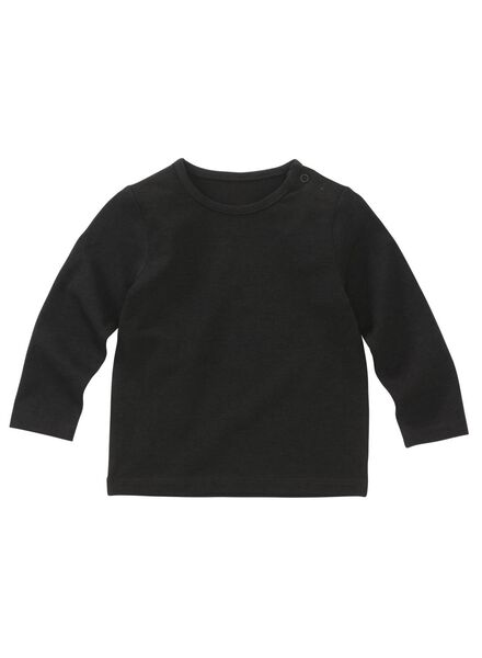Baby-T-Shirt – Bambus schwarz schwarz - 1000011965 - HEMA