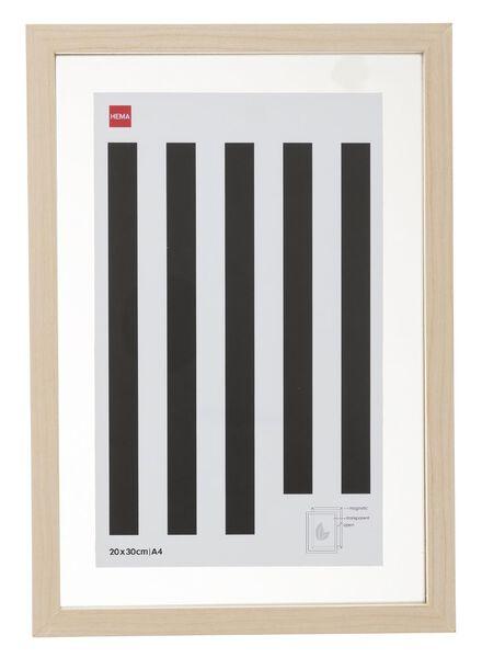 cadre photo magnétique 20 x 30 cm - 13680039 - HEMA