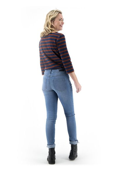 jean femme - modèle skinny bleu clair bleu clair - 1000018244 - HEMA