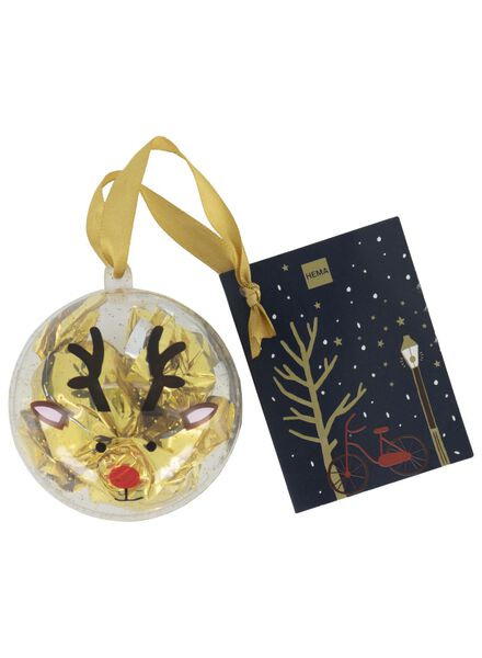 bauble with chocolate boules - 10040018 - hema