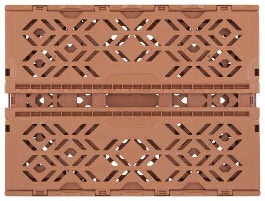 Klappkiste, recycelt, 30 x 40 x 15 cm, terrakotta - 39821052 - HEMA