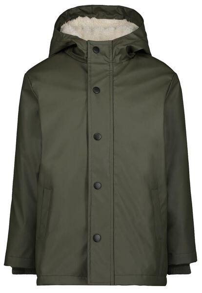 manteau enfant vert armée vert armée - 1000024358 - HEMA