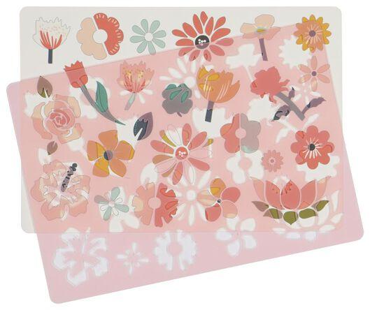 Zeichenschablone Blumen - 15900056 - HEMA