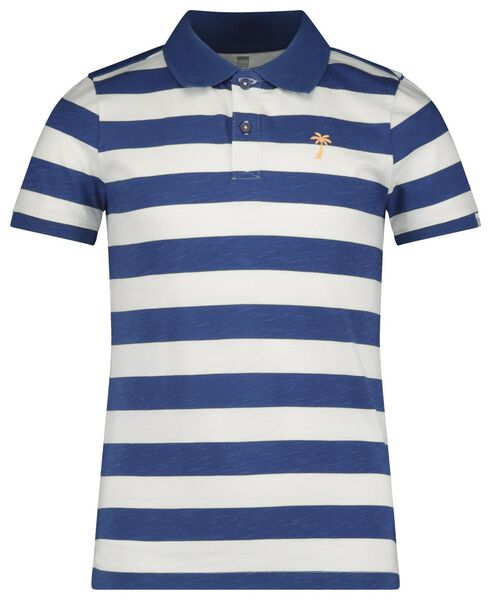children's polo shirt blue blue - 1000018897 - hema