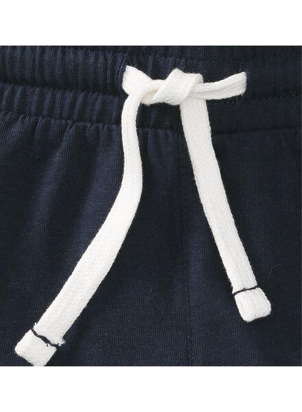 2-pack children's shorts dark blue dark blue - 1000006689 - hema
