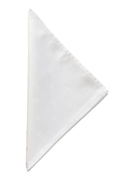 serviette 48x48 woven dot - 5390117 - hema
