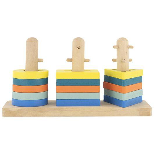Holz-Stapelpuzzle - 15122226 - HEMA