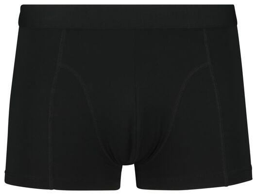 2-pack men's boxer shorts short recycled micro black black - 1000018775 - hema