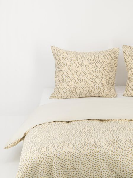 duvet cover - soft cotton white white - 1000018656 - hema