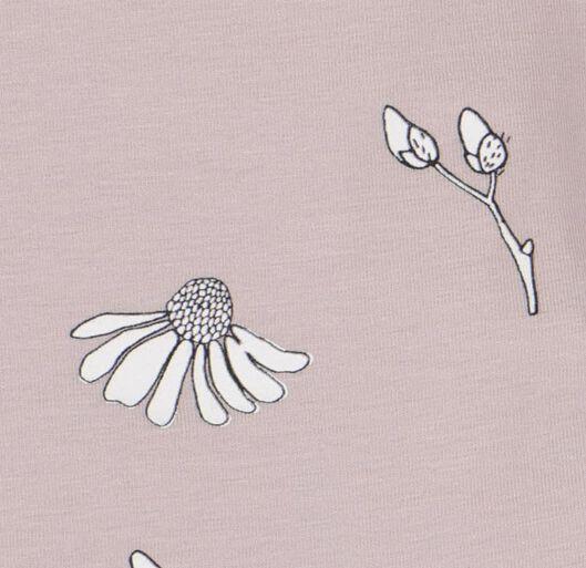 Body mit Bambus, Stretch, Blumen lila lila - 1000020976 - HEMA