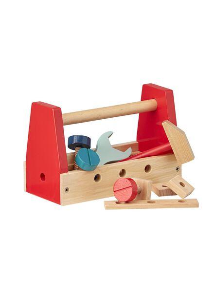 caisse à outils en bois - 15122220 - HEMA