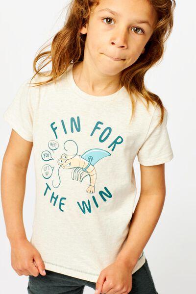 t-shirt enfant beige beige - 1000024052 - HEMA