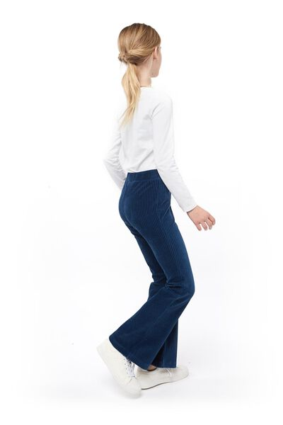 children's flared jeans blue blue - 1000017771 - hema