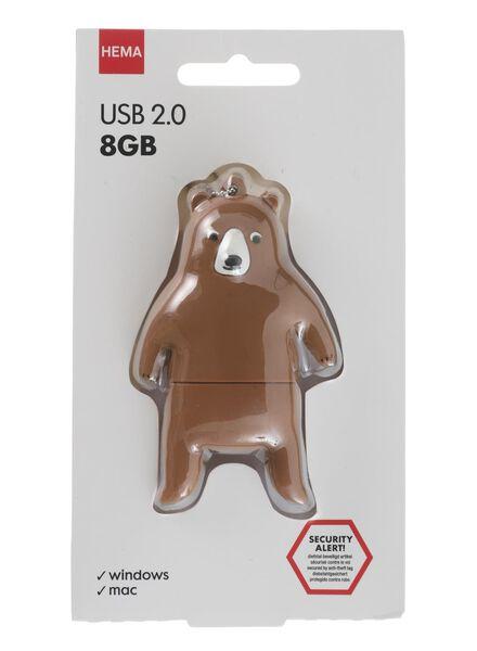 clé USB 8 Go ours - 39520029 - HEMA
