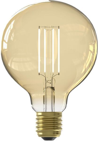 Smart-LED-Kugellampe, 7 W, 806 lm, gold - 20000030 - HEMA