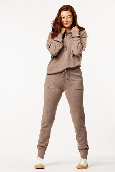 Hosen - HEMA Damen Loungehose Braun  - Onlineshop HEMA