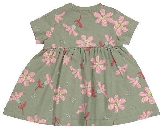 Baby-Kleid, Blumen grün grün - 1000022635 - HEMA