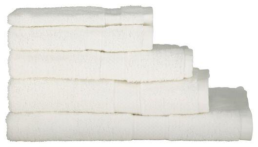 serviettes de bain - qualité épaisse blanc blanc - 1000015178 - HEMA