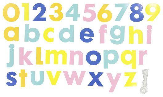 Buchstabengirlande zum Selberbasteln - 14230235 - HEMA