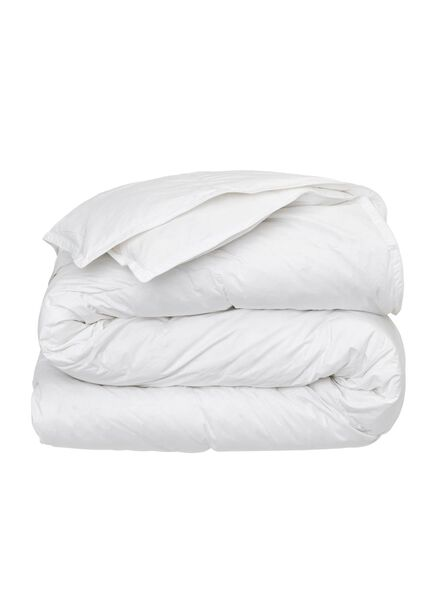 semi-down duvet - 200 x 220 cm white 200 x 220 - 5500030 - hema