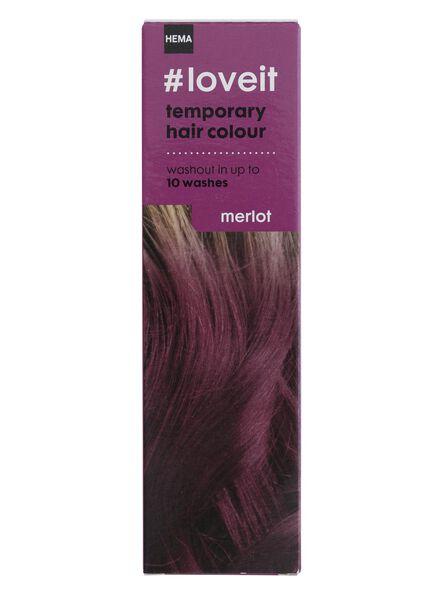 temporary hair dye merlot - 11030001 - hema