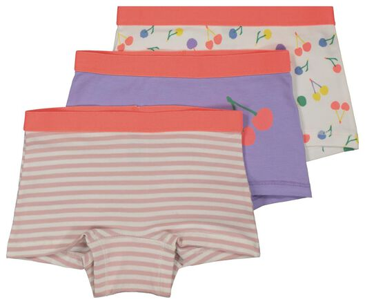 3-pack children's boxers purple purple - 1000018076 - hema