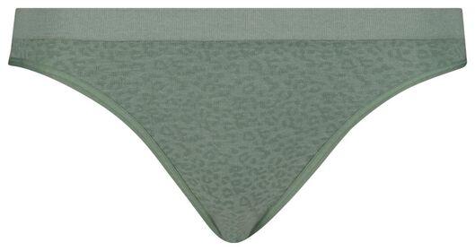 women's slip briefs seamless green green - 1000018639 - hema