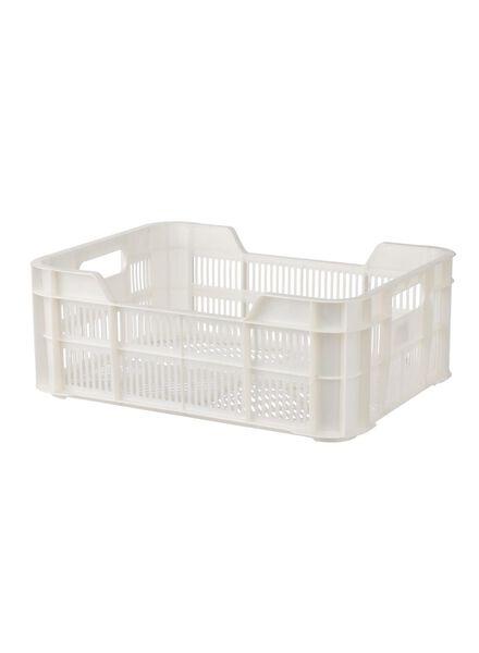 Ordnungsbox, 41 x 31 x 15 cm – weiß - 39891034 - HEMA