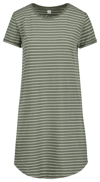 women's nightshirt green green - 1000018928 - hema
