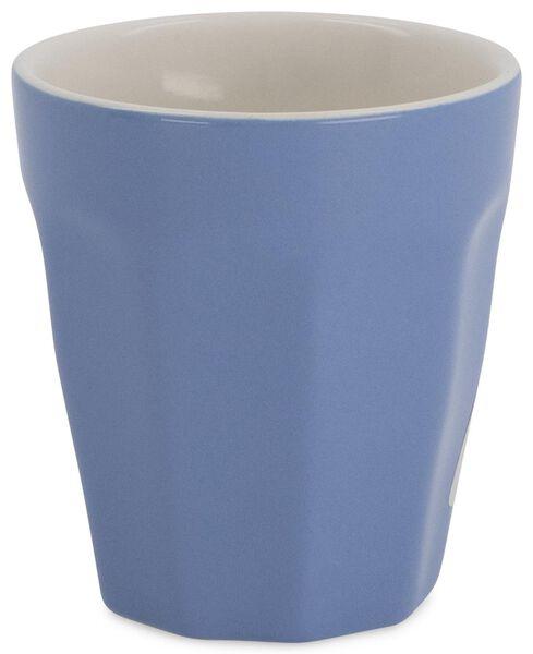2 mugs 9 cl Mirabeau bleu 9cl bleu - 9602108 - HEMA