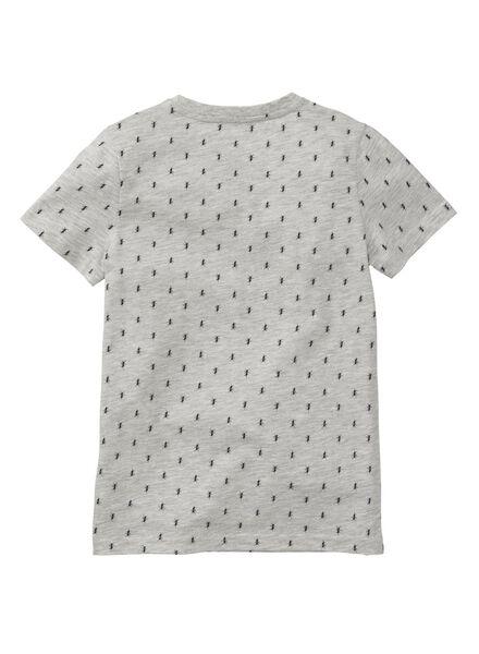 children's T-shirt grey melange grey melange - 1000006677 - hema