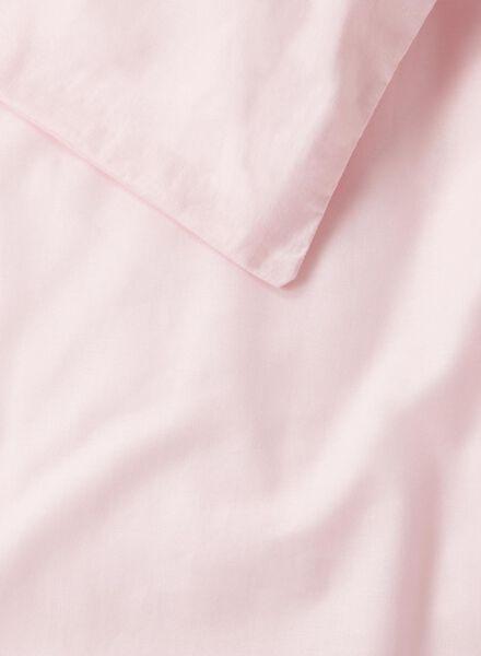housse de couette-coton doux-240x220cm-rose - 5700139 - HEMA