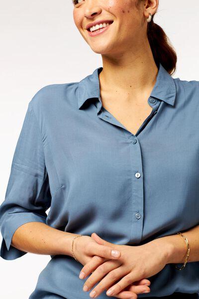 women's blouse blue blue - 1000022978 - hema