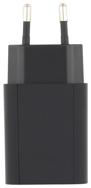 chargeur USB 2.1A noir - 39650300 - HEMA