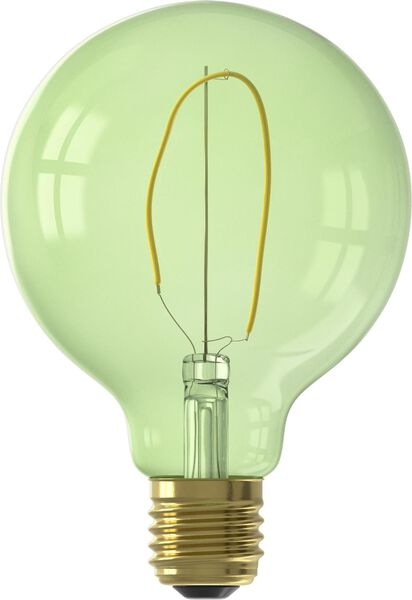 LED-Lampe, 4 W, 130 lm, Kugel, G95, grün - 20000019 - HEMA