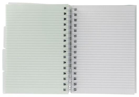 cahier à spirale 4-en-1 - A5 - ligné - 14132421 - HEMA