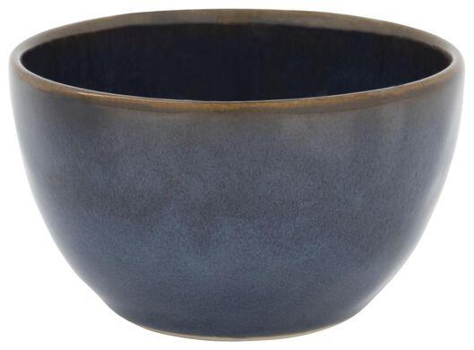 bowl - 10 cm - Porto - reactive glaze - dark blue - 9602220 - hema