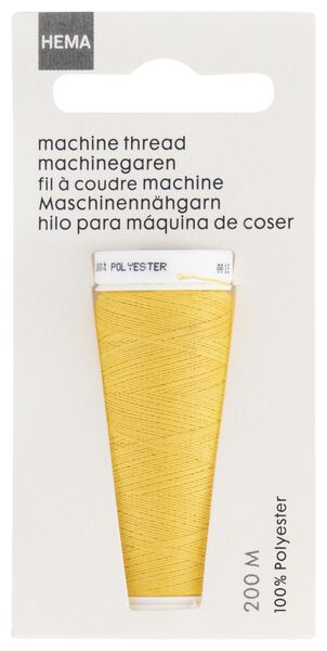 machine/hand sewing thread 200 metres yellow machine thread yellow - 1422035 - hema