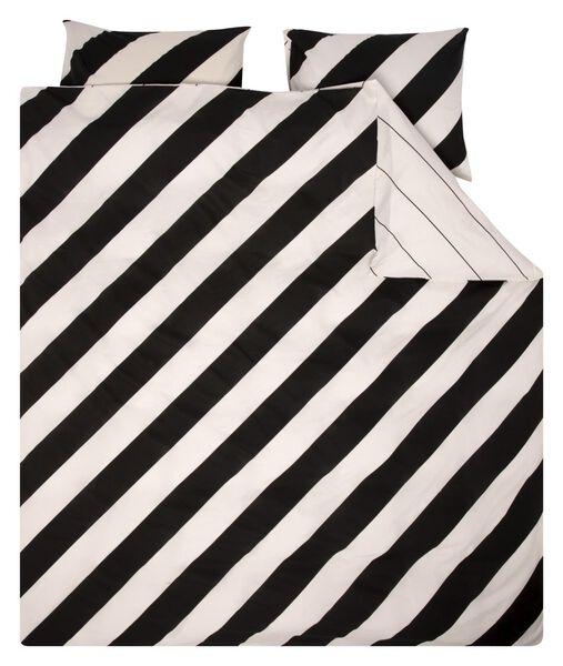 duvet cover - soft cotton white white - 1000018692 - hema