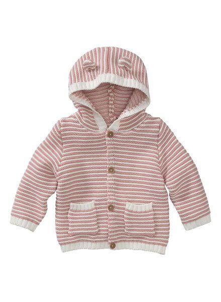 newborn jacket pink pink - 1000005638 - hema