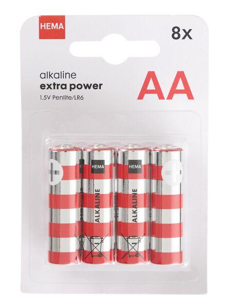 8er-Pack Batterien, Typ AA - 41290253 - HEMA