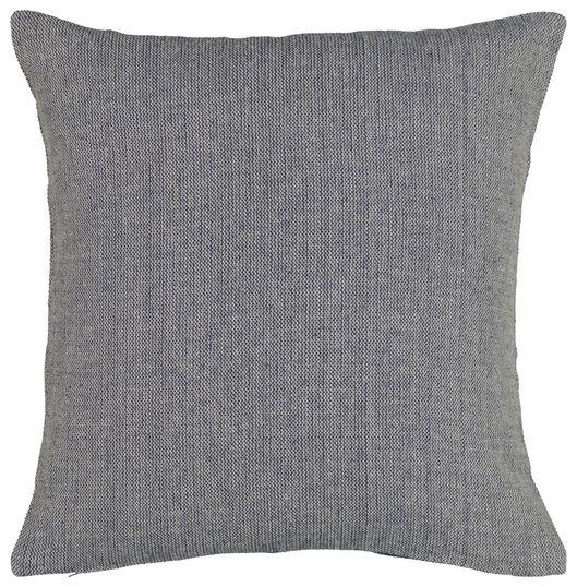 cushion cover 40x40 - structured blue - 7322012 - hema