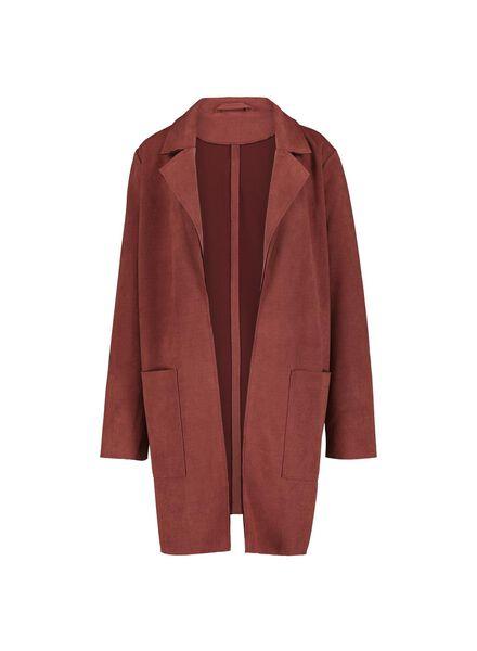 Damen-Jacke braun braun - 1000015480 - HEMA