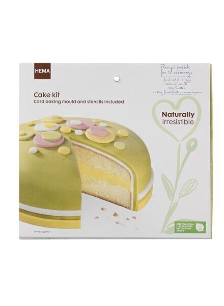 mélange pour gâteau au fondant - 10270050 - HEMA