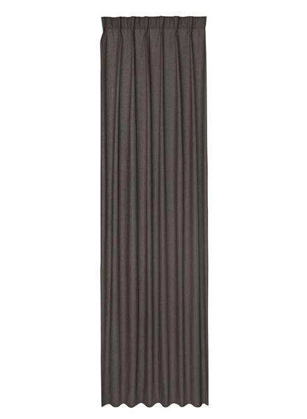 ready-to-use curtain - blackout - 7632124 - hema