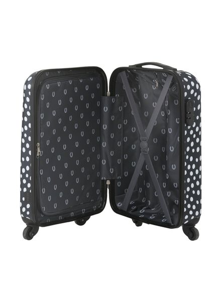 suitcase 55 x 35 x 20 - dark blue polka-dot 55 x 35 x 20 blue - 18690040 - hema