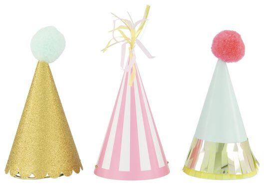 3 party hats Ø 9x15 - 14230163 - hema