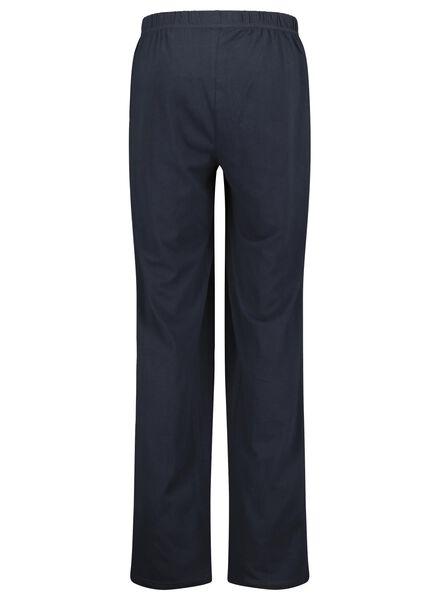 Herren-Pyjama dunkelblau dunkelblau - 1000015704 - HEMA