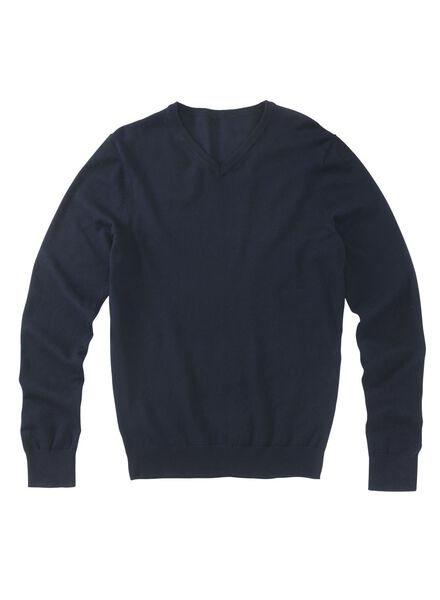 men's sweater blue blue - 1000013239 - hema