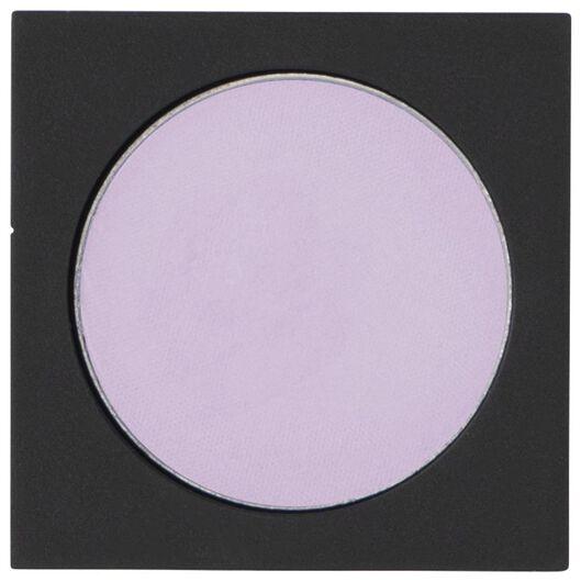 ombre à paupières mono satin 12 lovely lilac lilas recharge - 11210312 - HEMA